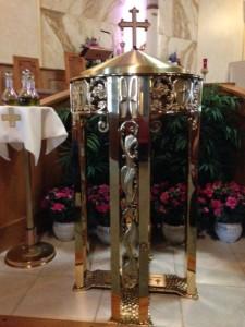 St. Justin's Baptismal Font
